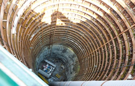 shaft lagging